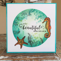 Beautiful World Greeting Card