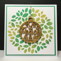 Christmas Card and Decoration - Peace