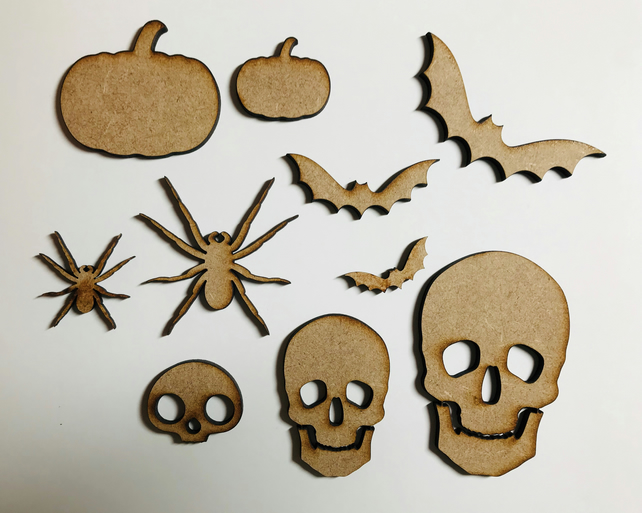 Spooky MDF elements