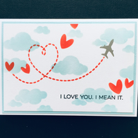 Love in the Clouds card