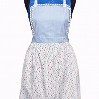 Women's Apron, Puffed Pleated Full Skirt Mother Daughter,Mother and Child Apron