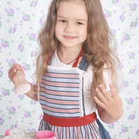 Mother and Child Apron, Kids Pinny, Ladies & Girls Apron, Mother Daughter Aprons