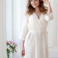 IN STOCK Cream, Blue, Green, Pink, Lilac, Peach Ladies Robe, Bridesmaid & Bride