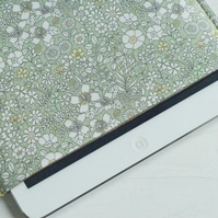 Padded iPad Mini Cover, iPad Air Case, iPad Air Sleeve, Floral Cover Case
