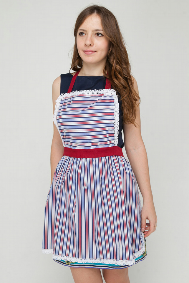 Pinny, Ladies & Girls Apron, Mother Daughter Aprons, Mother and Child Apron