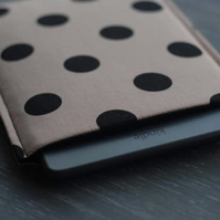 Kindle Touch Cover Case, Kindle Paperwhite Cover, Kindle 6'', Polka Dot Sleeve