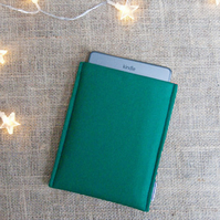 Green iPad Mini Cover, iPad Mini Sleeve, Green Sumsung Cover, Sleeve for Tablet