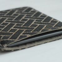 Kindle Touch Cover, Brown Kindle Paperwhite Sleeve, Geometric Kindle Cover