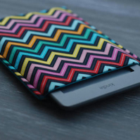 iPad Mini Cover, Chevron iPad Mini Sleeve, Padded Sumsung Cover