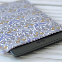 Lilac Kindle Cover, Kindle Touch Case, Kindle Paperwhite Sleeve, Floral Case