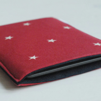 Red iPad Mini Cover, Stars iPad Mini Sleeve, Sumsung Cover, Sleeve for Tablet
