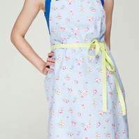 Aprons for Women, Floral Ladies Apron, Elegant Pinny, Women Pinny,Cute Bib Apron