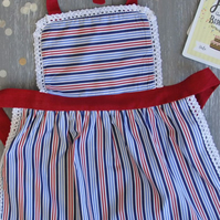 Kids Apron 0-2 years, Mother and Child Apron, Kids Pinny, Ladies & Girls Apron