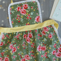 Kids Apron 2-4 years, Mother Daughter Aprons, Toddler Apron, Kids Apron
