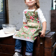 Kids Apron 5-7 years, Mother Daughter Aprons, Toddler Apron, Kids Apron