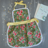 Kids Apron, Matching Aprons, Womens Apron, Toddler Apron, Gifts for Kids