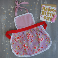 Matching Aprons, Personalized Gifts for Kids, Kids Aprons, Toddler Aprons