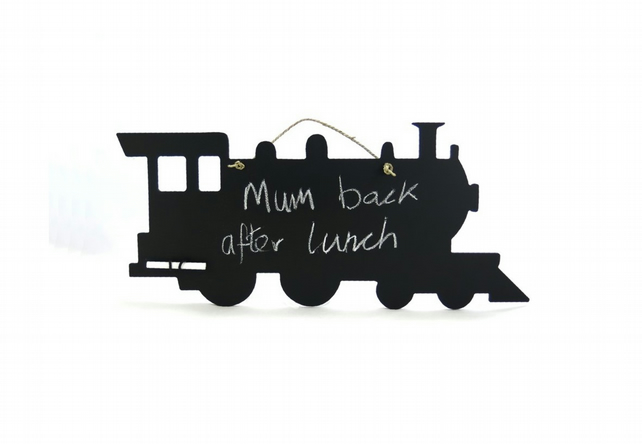 Steam Train Blackboard