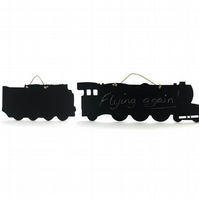 Flying Scotsman Blackboard