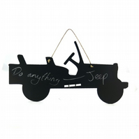 Willys Jeep Blackboard