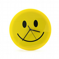 Smiley Face Emoji Wall Clock