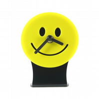 Smiley Face Emoji Desk Clock
