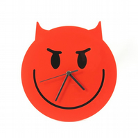 Wicked Emoji Wall Clock