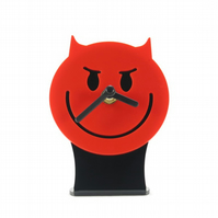 Wicked Emoji Desk Clock