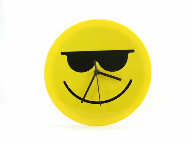 Cool Emoji Wall Clock