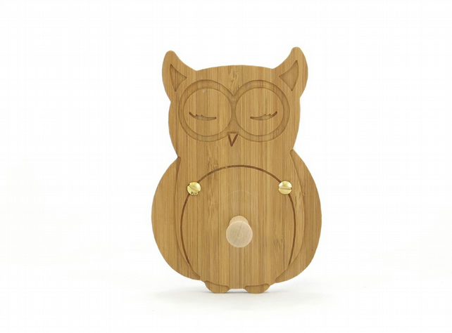 Owl Coat Hook