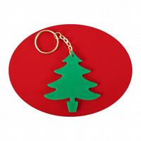 Christmas Tree Bag Charm and Key Ring