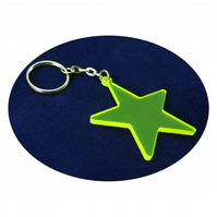 Star Bag Charm and Key Ring
