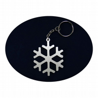 Snowflake Bag Charm and Key Ring