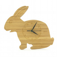 Rabbit Clock - Natural