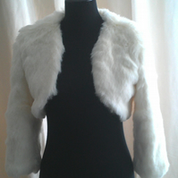 Luxurious Faux Fur Bolero (Short jacket)