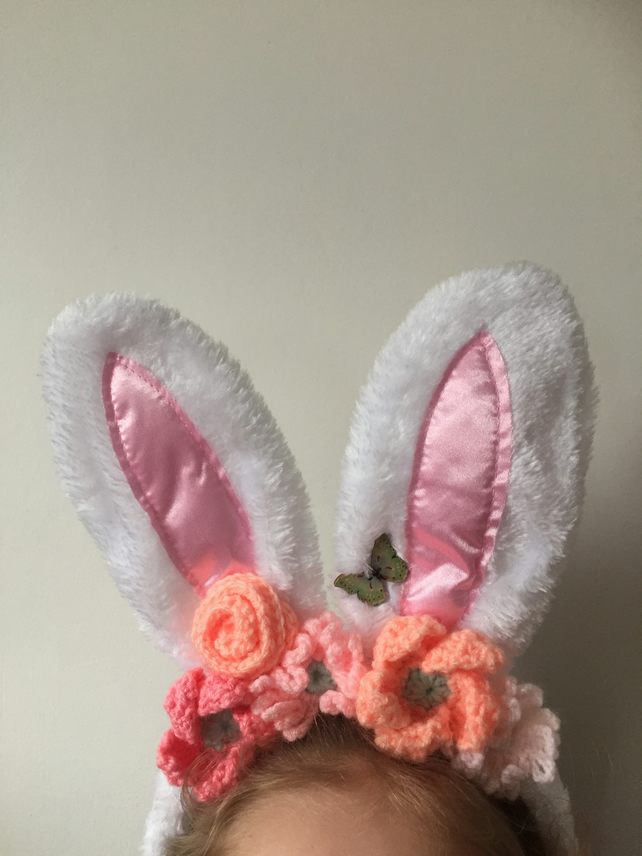 Easter bunny ears in corals
