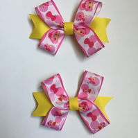 Lalaloopsy hair bow clip set