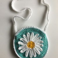 Crochet Daisy bag