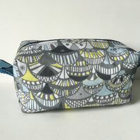 Cosmetics bag, Peacock print, bags and accessories, gifts for her
