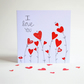 Valentine's day card, love card, i love you, valentines day
