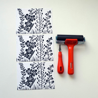 FLORAL LINO POSTCARDS