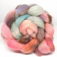 Dorset Horn Hand Dyed Combed Wool Top 100g DH14