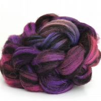 Jacob Humbug Kettle Dyed Wool Top JHT24 100g - 3.5oz