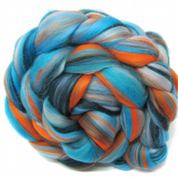 Merino Combed Wool Top - Lamorna 100g for Spinning Yarn and Felting