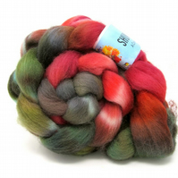 Dorset Horn Hand Dyed Combed Wool Top British Breed 100g DH3