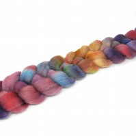 Falkland Wool Combed Top Hand Dyed 100g Braid FT26