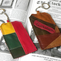 Real Leather Key Fobs (Code: LKFB008)