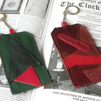 Real Leather Key Fobs (Code: LKFB009)