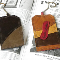 Real Leather Key Fobs (Code: LKFB010)
