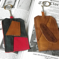 Real Leather Key Fobs (Code: LKFB011)